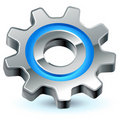 Gear settings icon Royalty Free Stock Photo