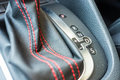 Gear shift modern sport car automatic Royalty Free Stock Image