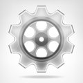 Gear Wheel 3D Object Isolated