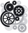 Gears, Cogs and Wheels Royalty Free Stock Photo
