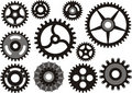 Gears Collection Royalty Free Stock Photography