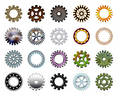 Gears collection #3 Royalty Free Stock Photos
