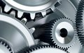 Gears concept background machinery industry Stock Image
