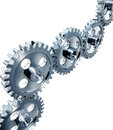 Gears d high resolution rendering of Royalty Free Stock Image