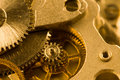 Gears from old mechanism Royalty Free Stock Photography