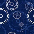 Gears pattern Royalty Free Stock Photos