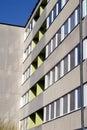 Gebäude-Farbton Stockbild