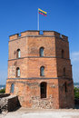 Gediminas Castle Tower in Vilnius Royalty Free Stock Photo