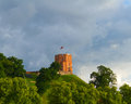 Gediminas Tower, Vilnius, Lithuania Royalty Free Stock Photography