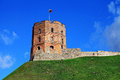 Gediminas tower.Vilnius. Royalty Free Stock Photo