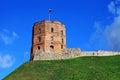 Gediminas tower.Vilnius. Royalty Free Stock Photo
