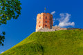 Gediminas Tower in Vilnius, Lithuania Royalty Free Stock Photo