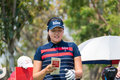 In Gee Chun of South Korea in Honda LPGA Thailand 2016 Royalty Free Stock Photo