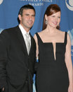 Geena davis and husband nd people s choice awards shrine auditorium los angeles ca january Stock Images