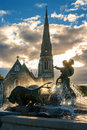 Gefion fountain. Copenhagen, Denmark Royalty Free Stock Photography