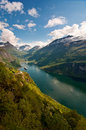 Geiranger Fjord (Norway) Stock Photography