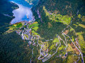Geiranger fjord, Norway. Royalty Free Stock Photo