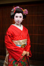 Geisha 01 Japan-Kyoto Maiko Stockfotos