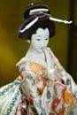 Geisha doll Royalty Free Stock Photo