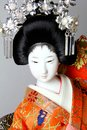 Geisha japanese doll Stock Photos