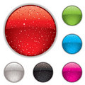 Gel button speckle Stock Photography