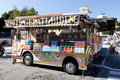Gelati Truck Royalty Free Stock Photography