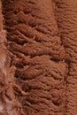 Gelato del cioccolato da sopra Fotografia Stock Libera da Diritti