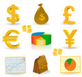 Geld und Bargeld Lizenzfreie Stockfotografie