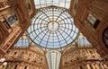 Gelleria Vittorio Emanuele II in Milan Royalty Free Stock Photo