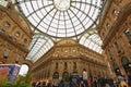 Gelleria Vittorio Emanuele II in Milan Stock Images