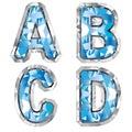 Gem letter A B C D