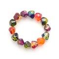 Gem stone bracelet Royalty Free Stock Photo