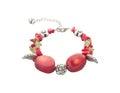Gemstones bracelet Royalty Free Stock Photo