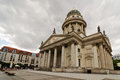 Gendarmenmarkt french cathedral and square berlin Royalty Free Stock Photos