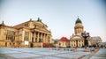 Gendarmenmarkt square with Concert hall in Berlin