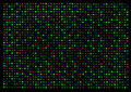 Gene Expression Microarray Stock Image