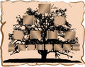 Genealogical tree Royalty Free Stock Images