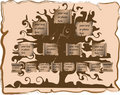 Genealogical tree Royalty Free Stock Photos