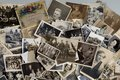 Genealogy - Family History - Old family photographs Royalty Free Stock Photo