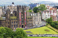 General assembly hall of the church of scotland at edinburgh is located between lawnmarket and mound in it is meeting place Royalty Free Stock Image
