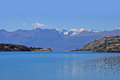 General carrera lake trip around the puerto rio tranqullo chile Stock Photos