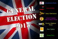 General election united kingdom the may th contested by the main political parties conservatives labour liberal democrats ukip snp Stock Images