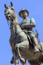 General hancock statue civil war memorial winfield scott equestrian pennsylvania avenue washington dc created by henry ellicot and Stock Photo