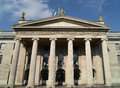 General post office dublin gpo facade in ireland Stock Photography