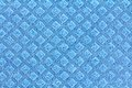 General purpose sponge cloth a clean texture of in blue color Royalty Free Stock Photo