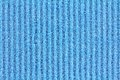 General purpose sponge cloth a clean texture of in blue color Royalty Free Stock Photos
