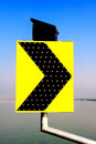General traffic sign symbol and traffic signal Royalty Free Stock Photo