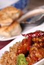General tso's chicken Stock Image