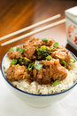 General tso s chicken chinese dish Stock Photography