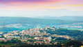 General view of pals area in summer catalonia spain Stock Photo